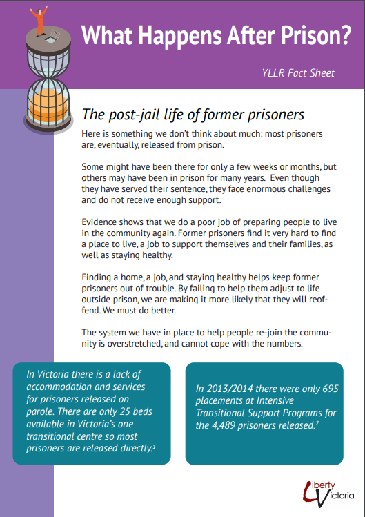 after prison fact sheet
